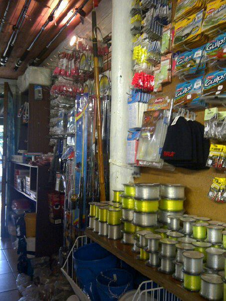 Fully Stocked Tackle shop