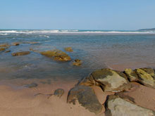 - View at the Tugela River Mouth about 10 minutes walk on the beach