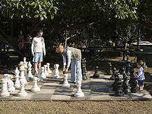 Giant Chess set -