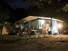 Camping sites -